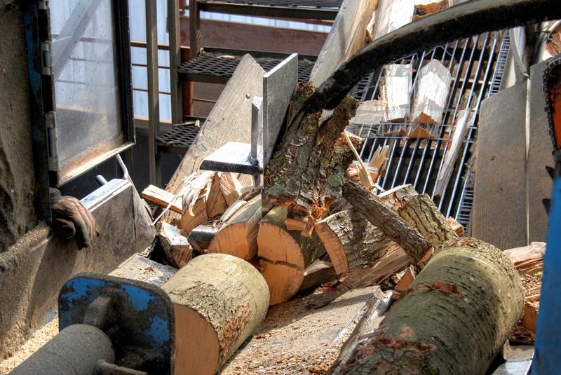12-way customer splitter by West End Firewood.