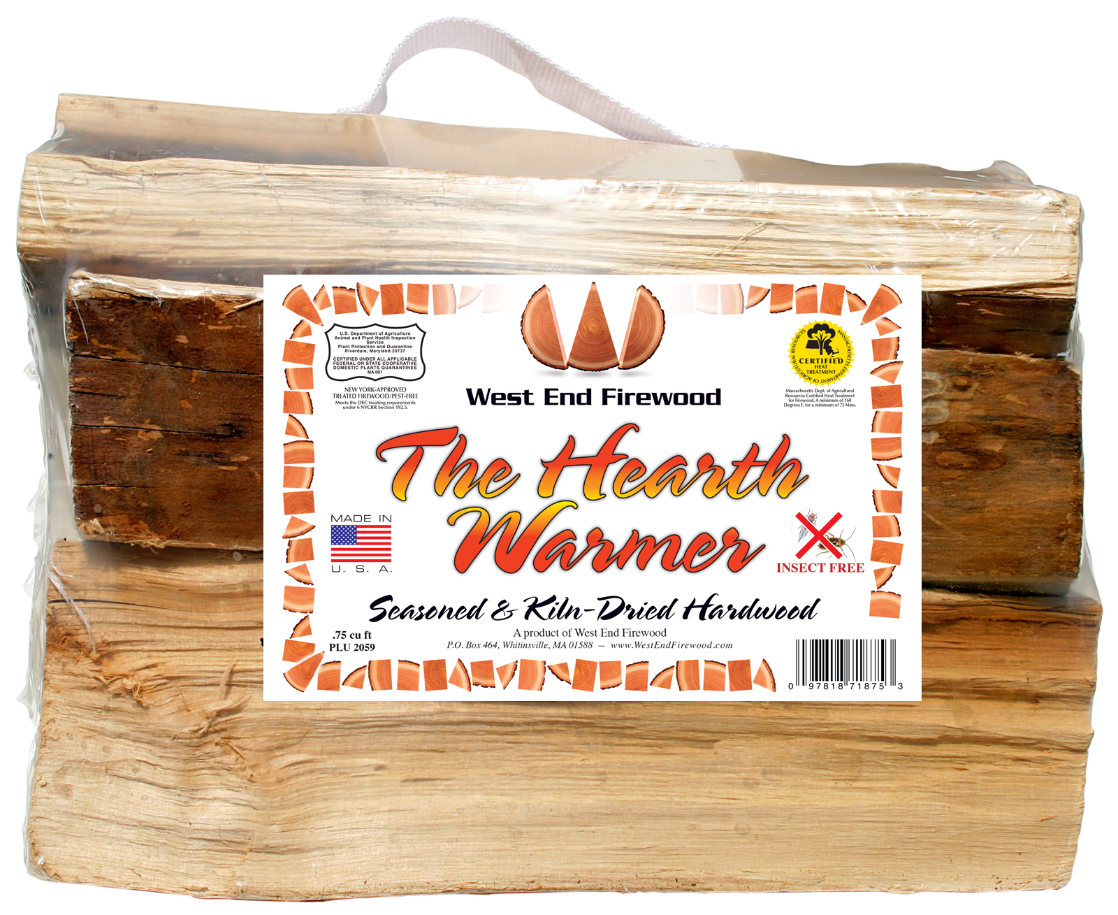 The Hearth Warmer - by West End Firewood