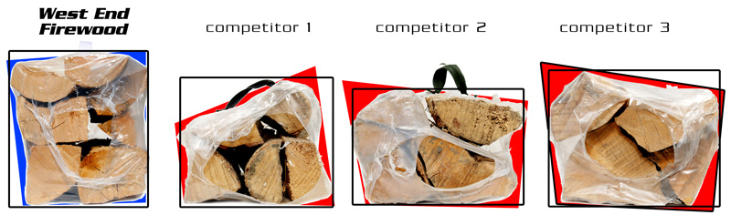 Compare the competition to West End Firewood