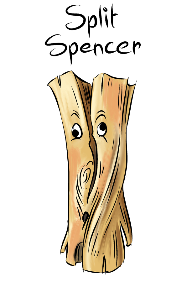 Split Spencer from West End Firewood - The Dirty Dozen