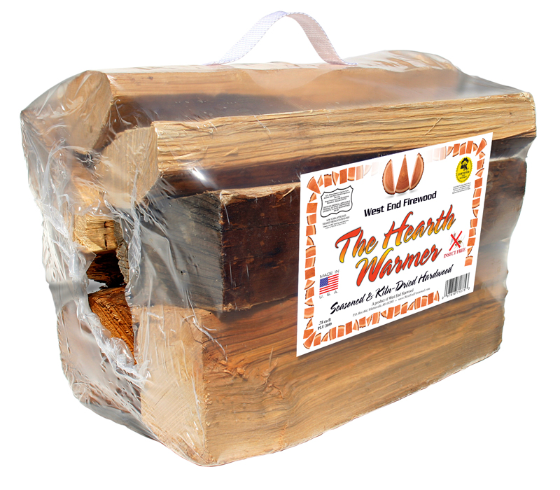 The Hearth Warmer packaged Firewood by West End Firewood