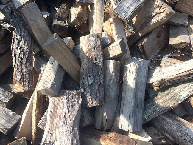 Air Dried Cord Wood from West End Firewood